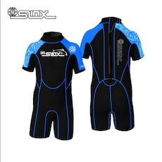 Blue and black boy's Sinx wet suit