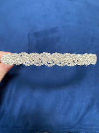Bridal Rhinestone Crystal Headband Fairfax, 22033