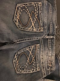 Silver women's jeans - Size 29 Madison, 39110