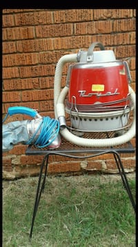 2 vintage Royal vacuum cleaners 1970s & 1950s