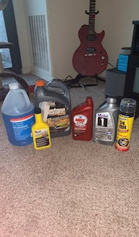 Assorted Car Maintenance Products