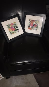 two white and red floral paintings Laurel, 20708