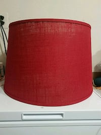 "Large round lampshade, 17"" diameter,  13.25"" tall Lorton, 22079"