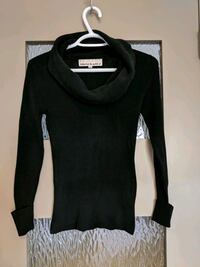 Black scoop neck sweater size small like new Calgary, T2E 0B4