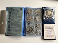 1980s Vintage & Rare Israel Coin Set + 85.0% Silver Calgary, T2R 0S8