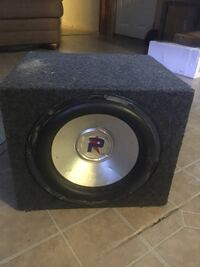 """10"""" sub with sealed box Clifton, 81520"""