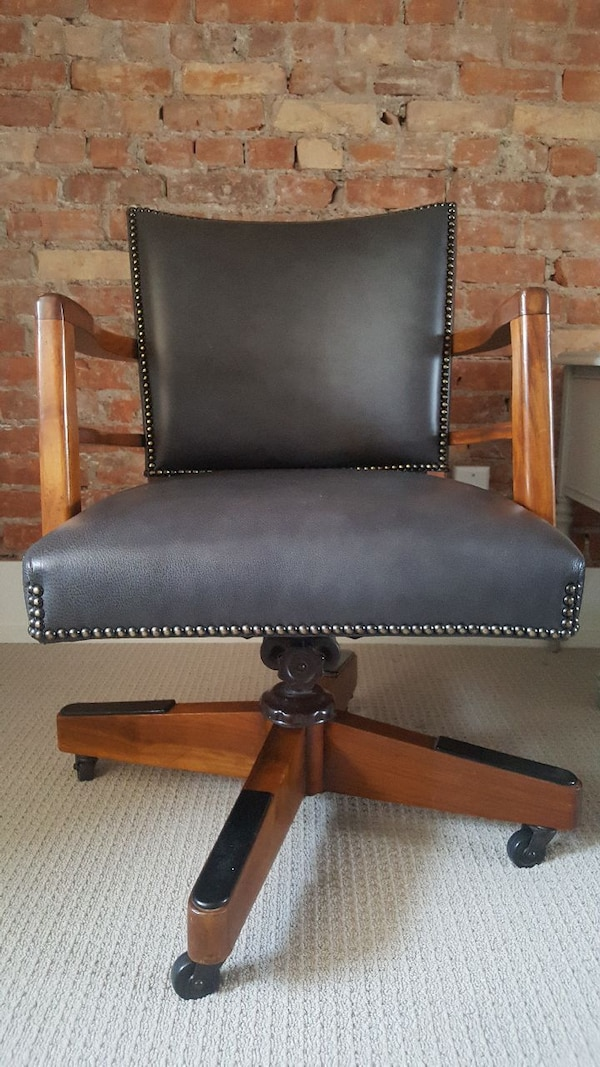 Beautifully Restored Antique Office Chair