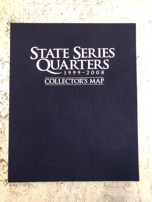 Used State Quarters Collectors Map for sale in North Olmsted - letgo