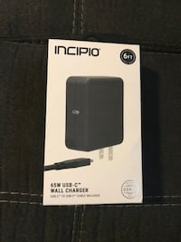 Incipio 65w USB-C Wall Charger for Laptops, Tablets, Smartphones  Lexington, 40502