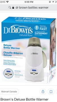 Brand new bottle warmer by Dr. Brown