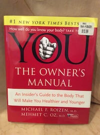YOU THE OWNERS MANUAL by Dr Oz Piscataway Township, 08854