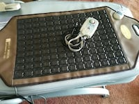 black and brown massage pads very good condition La Puente, 91744