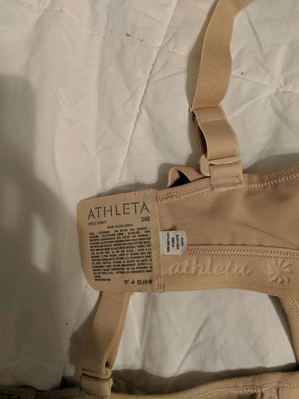 ATHLETA bras 34B 2