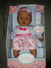 NEW Cuddly Doll $5. Riverside, 92505