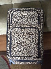 Black and Brown leopard print luggage bag Florissant, 63031