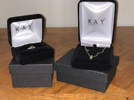 Kay Jewelers Necklace and Ring set
