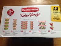 Brand New sealed Rubbermaid TakeAlongs 40 piece Toronto, M8Z 3Z7
