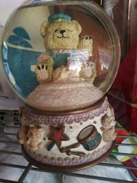 TEDDYBEAR WATER GLOBE WITH MUSICBOX Las Vegas, 89121