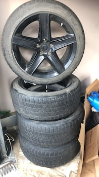 "Tires and rims 20"" Edmonton"