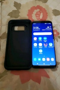 Like new samsung galaxy s8 with otterbox case