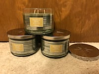 Brand new Chestnut Clove bundle of 3 wick candles 11 oz each Concord, 94518