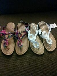 toddler's three pairs of sandals Fresno, 93726