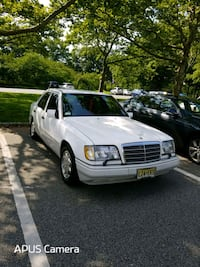 white Mercedes-Benz sedan Hillside, 07205