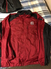 red and black zip-up jacket Fall River, B2T 1P5