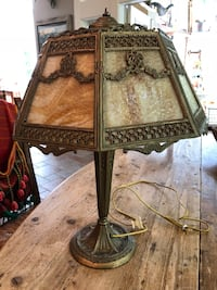 Antique Slag Glass Table Lamp Ellisville, 63011