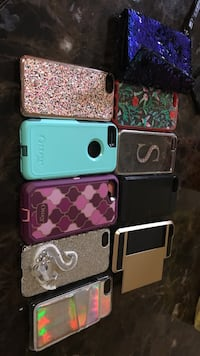 10 assorted color iphone cases.. $1 each