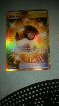 Carta pokemon Ultra Ball Roma, 00148