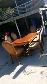 big table with chairs Vancouver, V5W 2X8