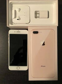 gold iPhone 7 plus with box Calgary