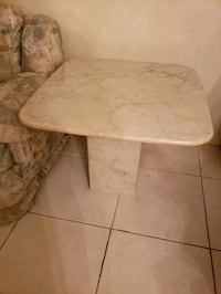 "Marble side Table 28"" x 28"""