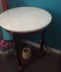 round white marble table Los Angeles, 90022