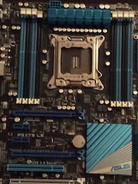 black and blue Asus motherboard Washington, 20020