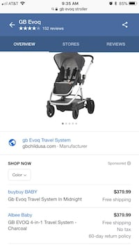 baby's black and gray stroller screenshot Clearwater, 33756