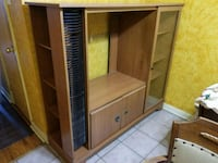 brown wooden cabinet with shelf Toronto, M6E 4M1