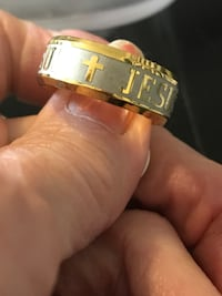 MENS OR LADIES JESUS RINGS, GOLD AND SILVER  Amarillo, 79109