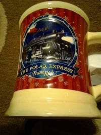 3 polor express cups
