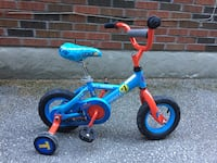 Spiderman bike with training wheels Toronto, M1K 1R6