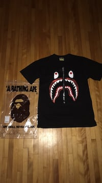 "Red Bape Camo Zip"" T-shirt Minneapolis, 55405"
