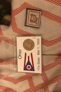 Ohio stamp and coin Columbia, 21045