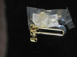 new brass latch lock for door