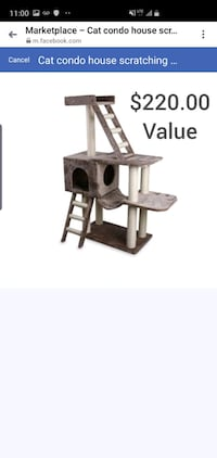 Large cat tower -cat condo -scratching tree