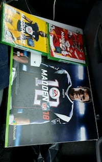 XBOX ONE S With Madden 18 Madden 19 and Madden 20 Fairfax
