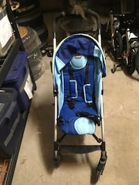 Baby's blue and black stroller Barrie, L4N 8M2
