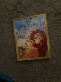 The Lion King DVD case Annandale, 22003