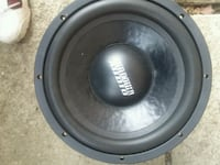 black and gray Pioneer subwoofer Cleveland, 44135