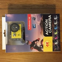 NEW ** ACTION CAMERA - ULTRA HD 4K WATERPROOF, WIFI - see pictures for all specs and inclusions Metuchen, 08840